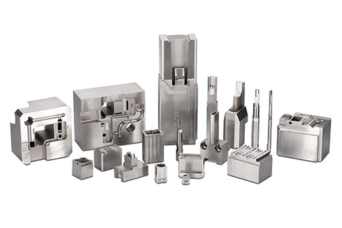 CUSTOMIZE MOULD PARTS MAKING / EDM machining parts_Quality